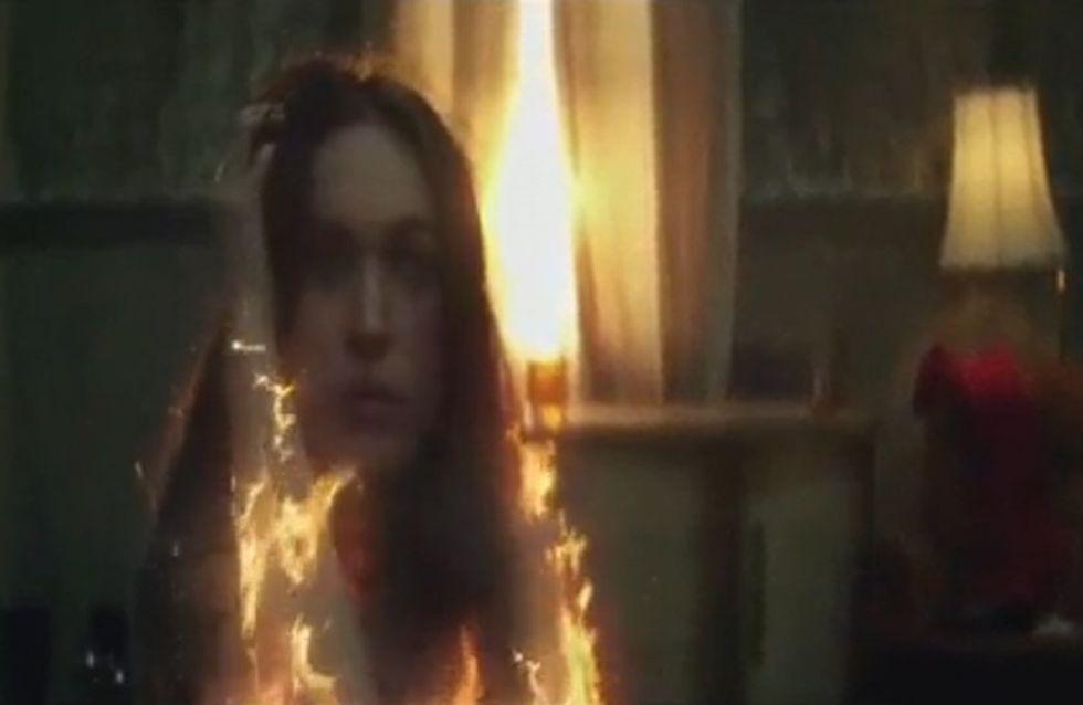 Megan Fox prend feu dans le clip d'Eminem et Rihanna