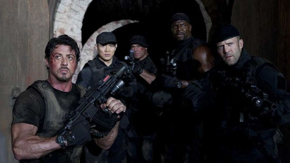 Stallone et ses gros bras hollywoodiens