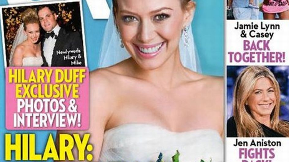Hilary Duff : ses photos de mariage