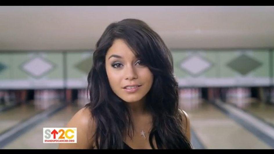 Vidéo : Vanessa Hudgens s'engage contre le cancer