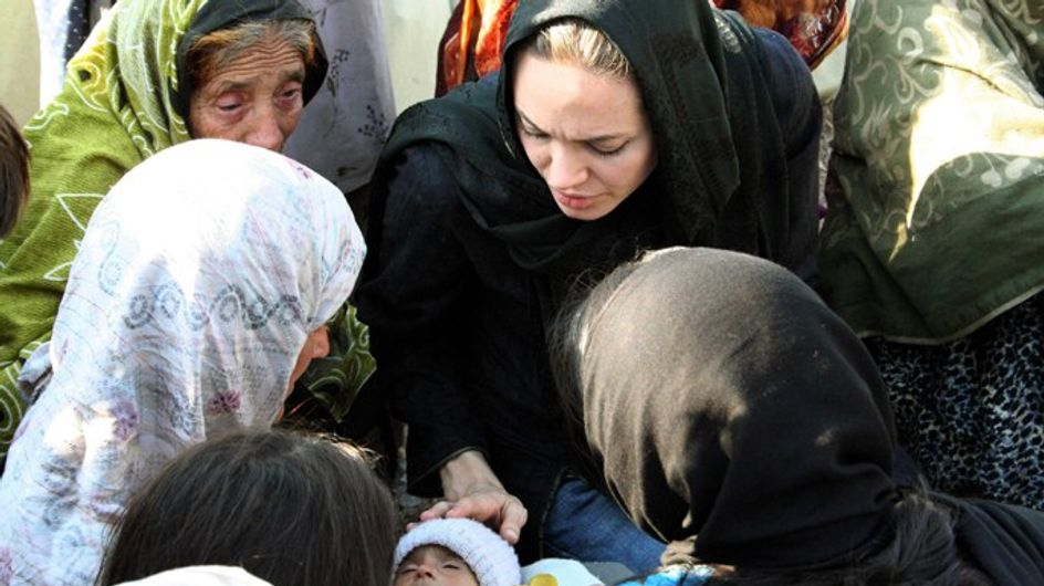"Angelina Jolie : ""Aidez le Pakistan !"""