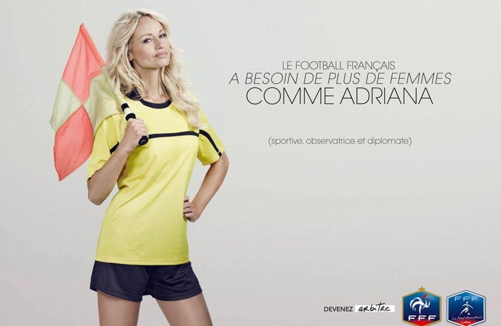 Adriana Karembeu : On peut être footballeuse et glamour !