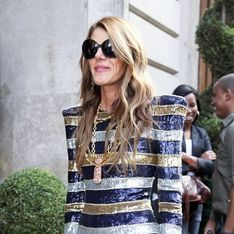 Photos : défilé de stars chez Balmain - Fashion Week Paris 2011