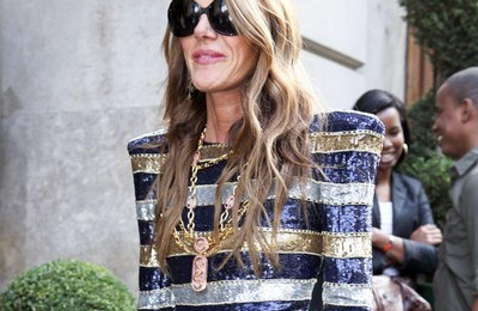 Photos : défilé de stars chez Balmain - Fashion Week Paris 2011