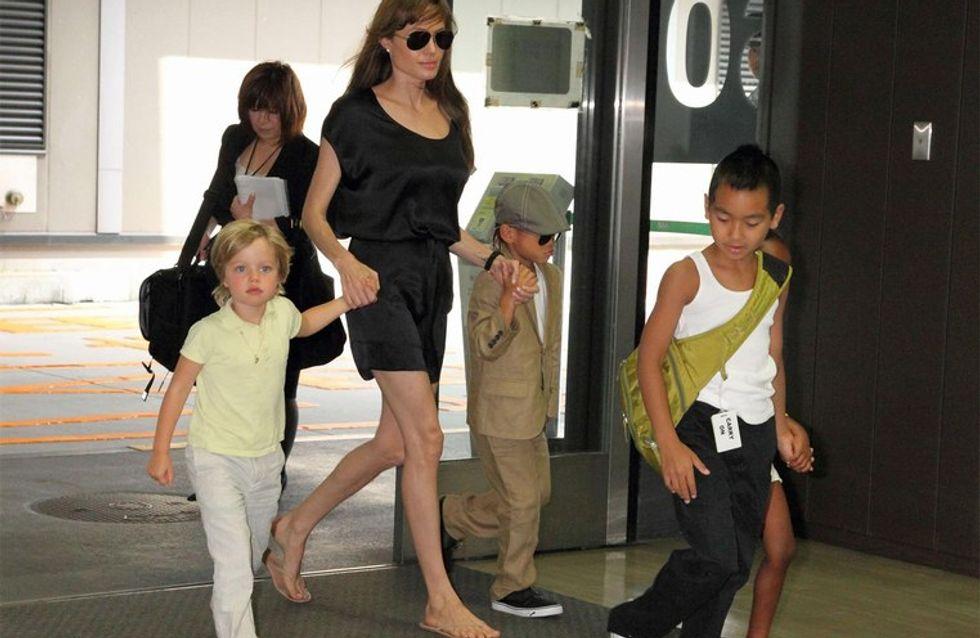 Angelina Jolie : ses enfants scolarisés à Budapest