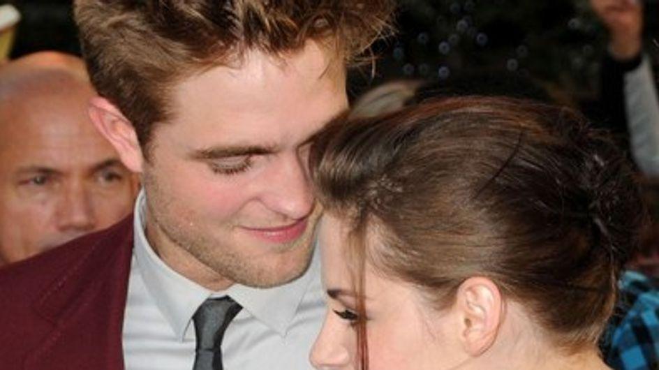 Robert Pattinson et Kristen Stewart : ils s'embrassent en public !