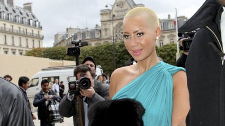 Photos : Ludivine Sagnier en beauté au défilé Louis Vuitton