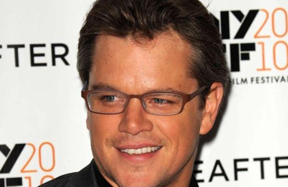 Matt Damon : un anniversaire pèpère pour ses 40 ans