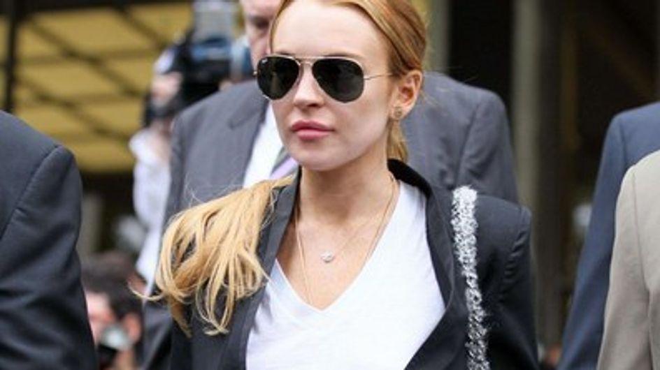 Lindsay Lohan retourne en désintox