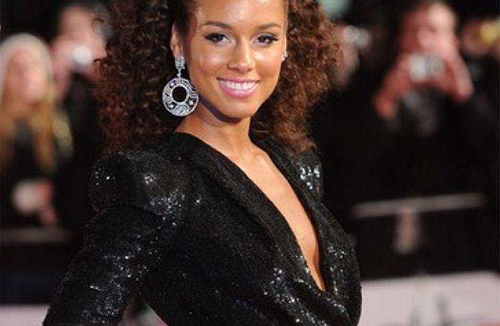 Alicia Keys gaga de son fils