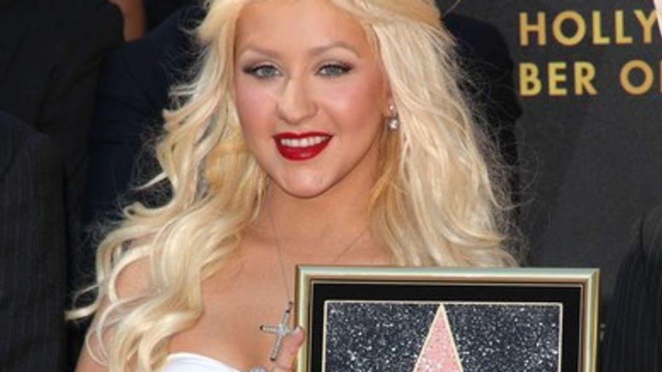 Photos : Christina Aguilera fière de son étoile sur Hollywood Boulevard