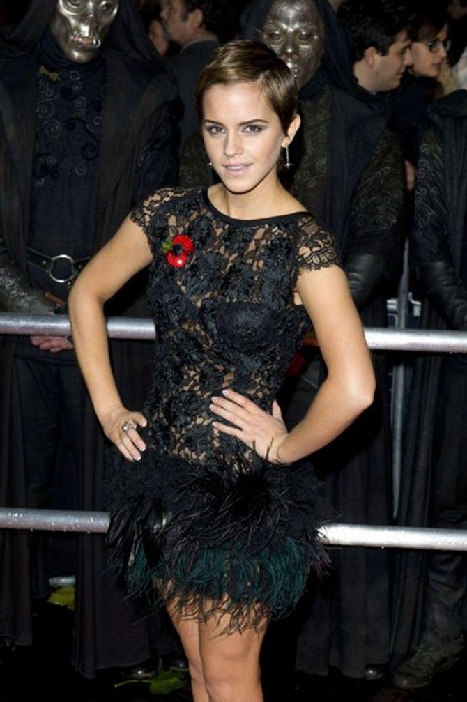 """Emma Watson élue """"actrice britannique la plus sexy"""""""