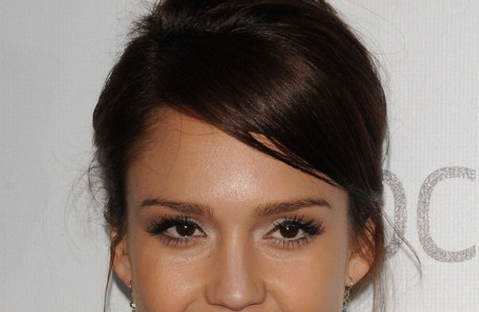 Jessica Alba, fan d'Angelina Jolie