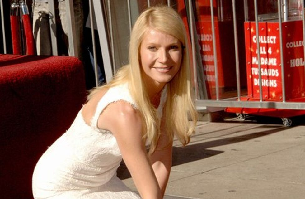 Gwyneth Paltrow, étoile sur Hollywood Boulevard