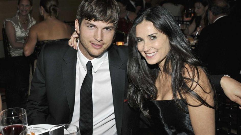 Demi Moore et Ashton Kutcher amoureux sous le soleil égyptien