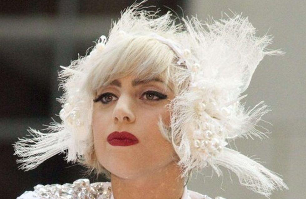 Lady Gaga victime de la neige