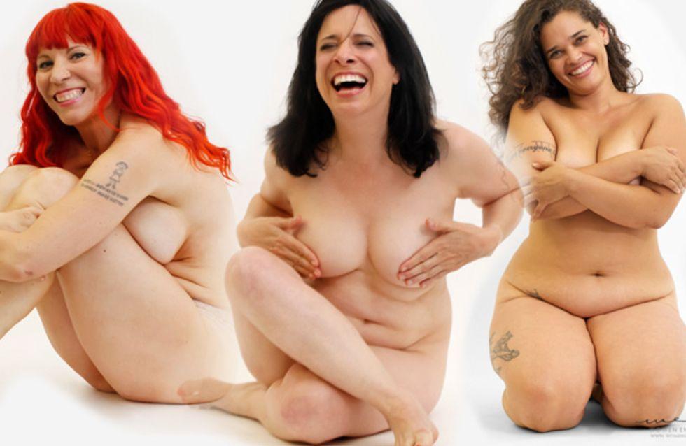 Bare: eindelijk een campagne die vrouwen toont zoals ze echt zijn! (Foto's)