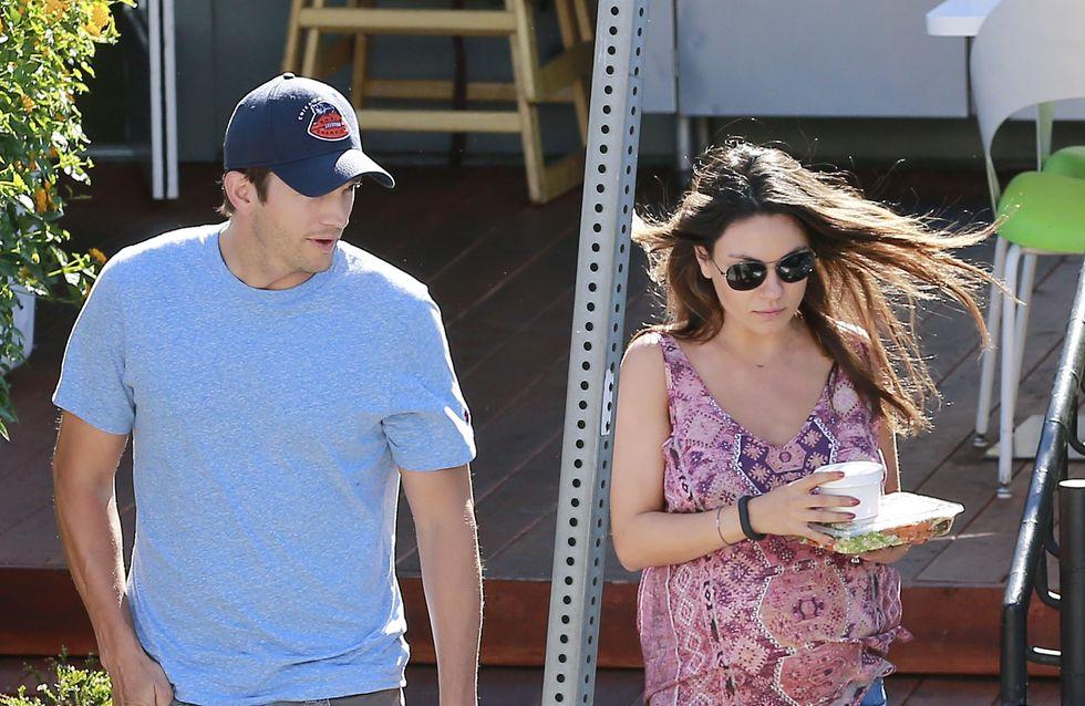 Mila Kunis e Ashton Kutcher ai ferri corti a causa di Demi Moore