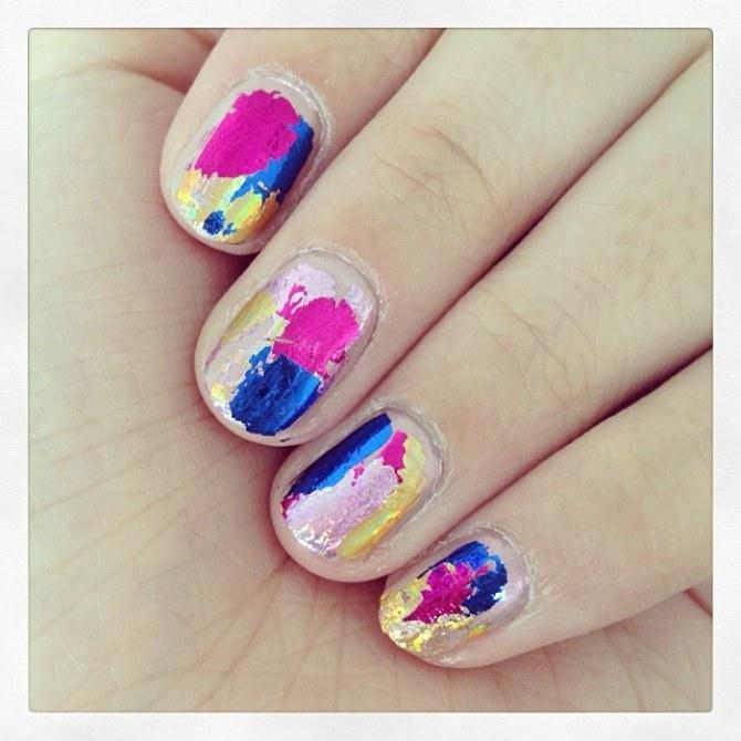 Foil Manicure