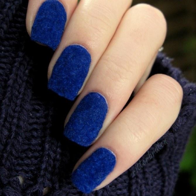 Fluffy Manicure