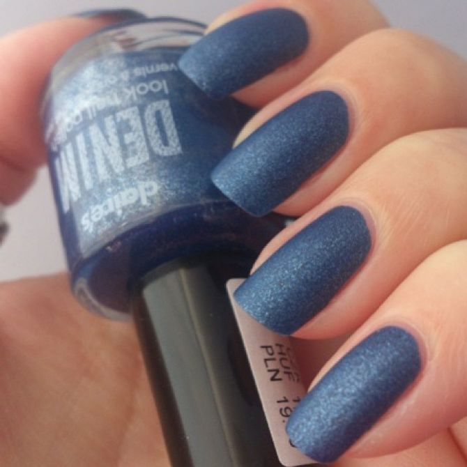 Denim Manicure