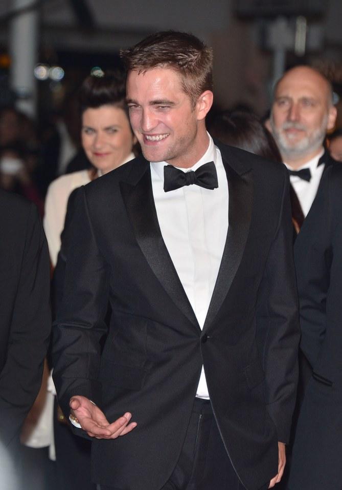 Robert Pattinson au Festival de Cannes