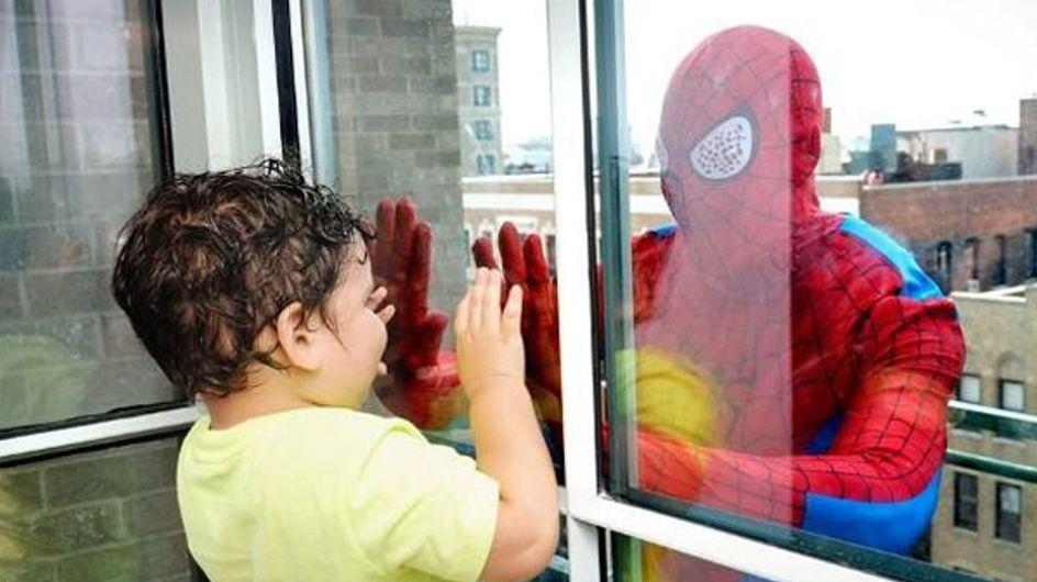 Mit dieser tollen Aktion bringen Spiderman & Co. Kinderaugen zum Strahlen!