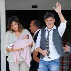 Alejandro Sanz y Raquel Perera presentan a su hija Alma
