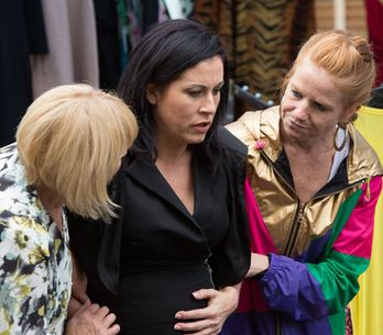 Eastenders 04/08 – Kat thinks she's going into labour