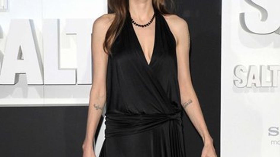 Angelina Jolie nous ouvre son dressing !