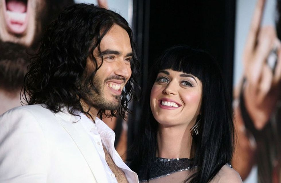 Le torchon brûle entre Katy Perry et Russel Brand !