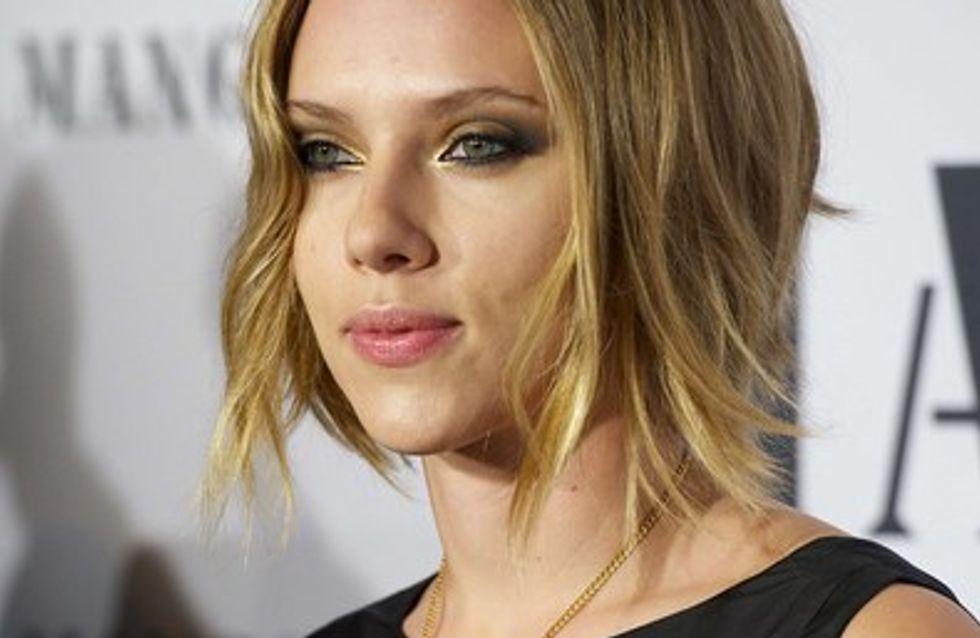 Scarlett Johansson fait sauter le bouchon