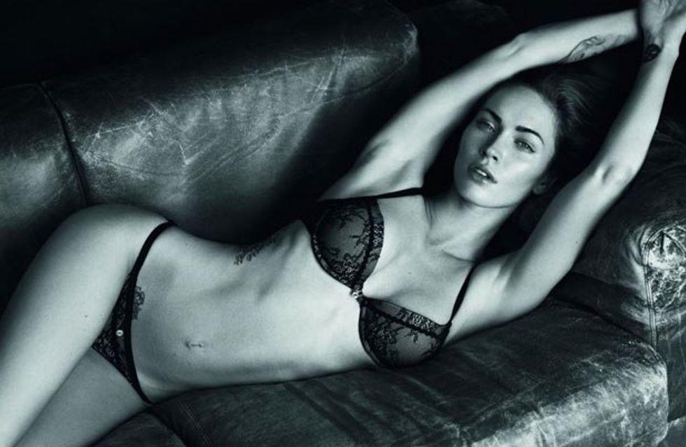 Megan Fox et Rafael Nadal à moitié nus pour Armani Underwear