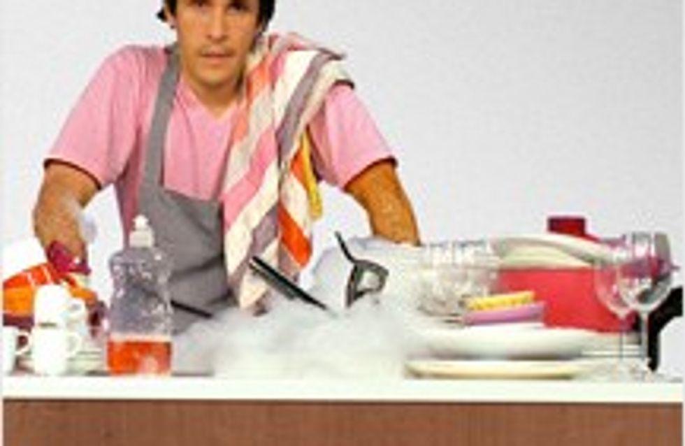 Ne lavez plus la vaisselle à la main !
