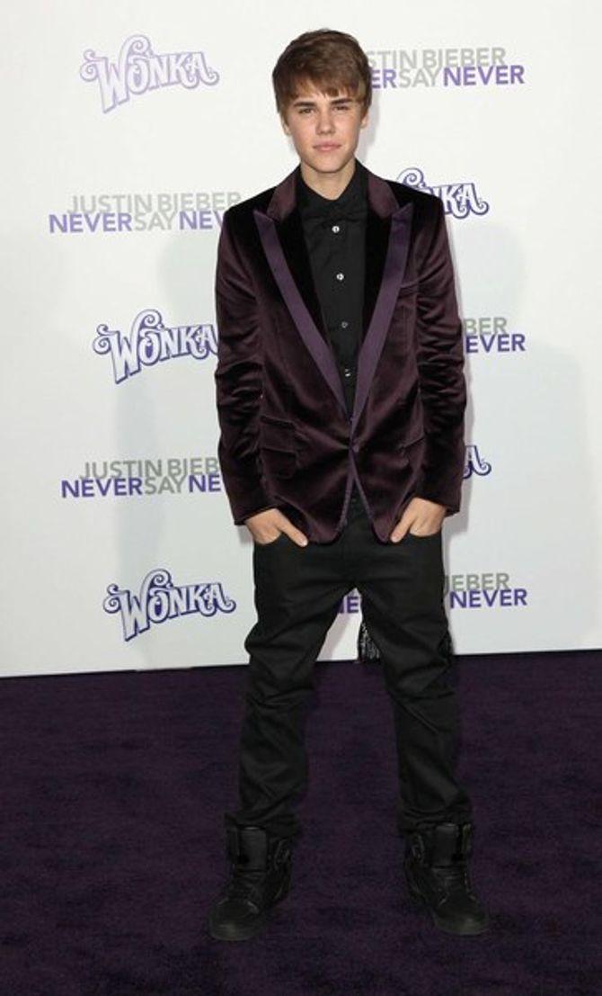 Justin Bieber et Selena Gomez : discrets à l'avant première de Never say never
