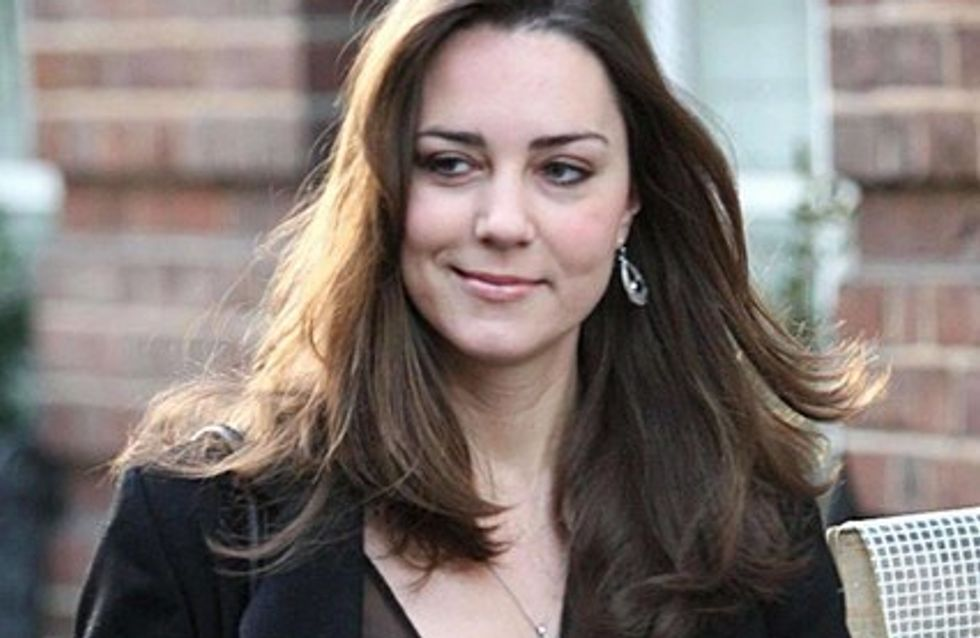 Kate Middleton a déjeuné avec sa future belle mère