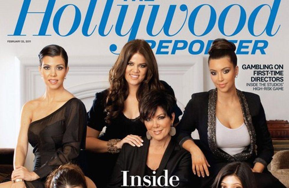 Kim Kardashian : en couverture d'Hollywood Reporter