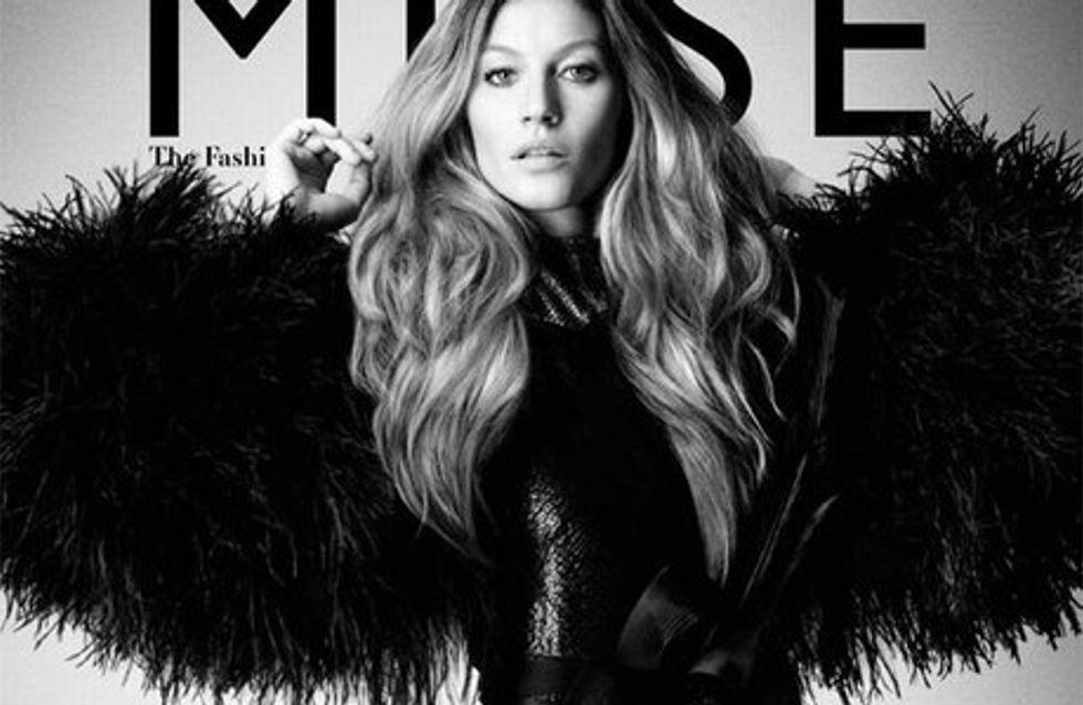 Photo : Gisèle Bündchen hyper sexy pour Muse
