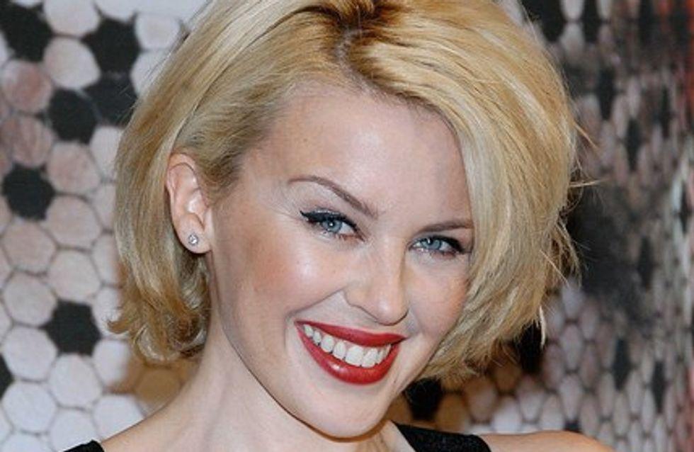 Vidéo : Kylie Minogue nous présente son nouveau bolide