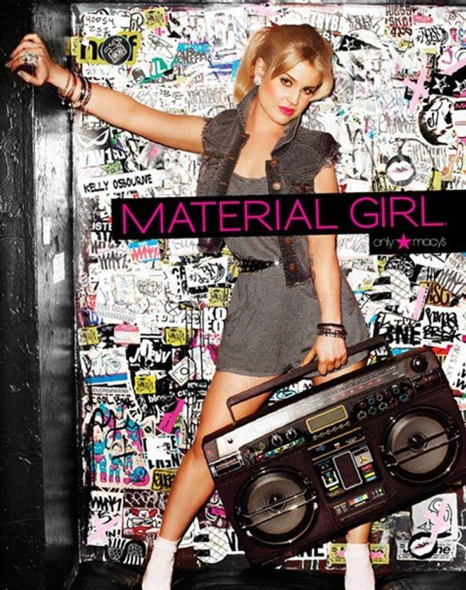 Photos : Kelly Osbourne nouvelle Material Girl de Madonna