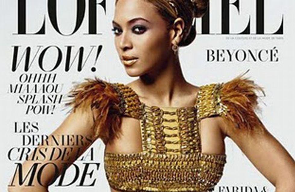 Beyoncé se teint la peau pour des photos