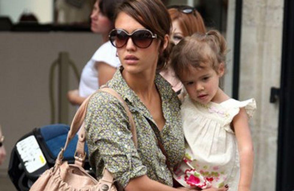 Jessica Alba plus proche que jamais de sa fille