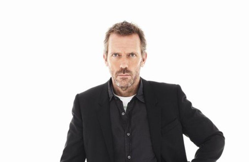 Le Dr House, Hugh Laurie, ravi d'avoir un rhume