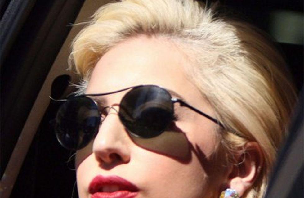 Lady Gaga devient top model