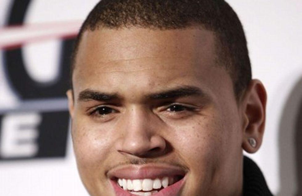 Photo : Chris Brown entièrement nu sur la toile