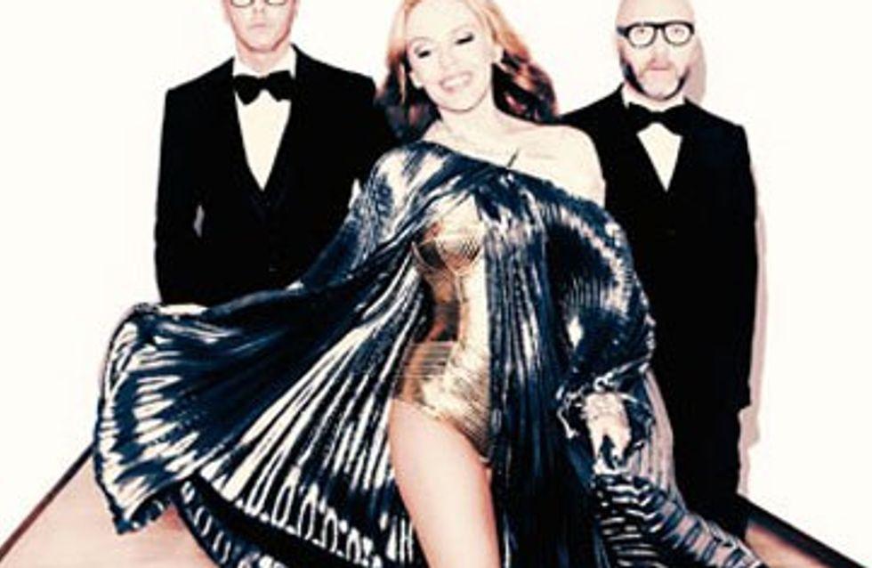 Vidéo : découvrez les tenues de scène de Kylie Minogue !