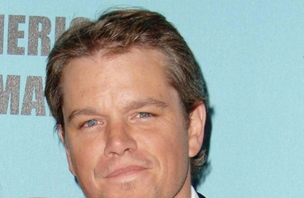 Matt Damon : Je vais embrasser Michael Douglas