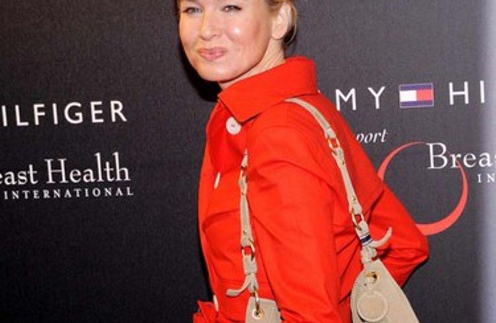 Renée Zellweger : un sac contre le cancer du sein