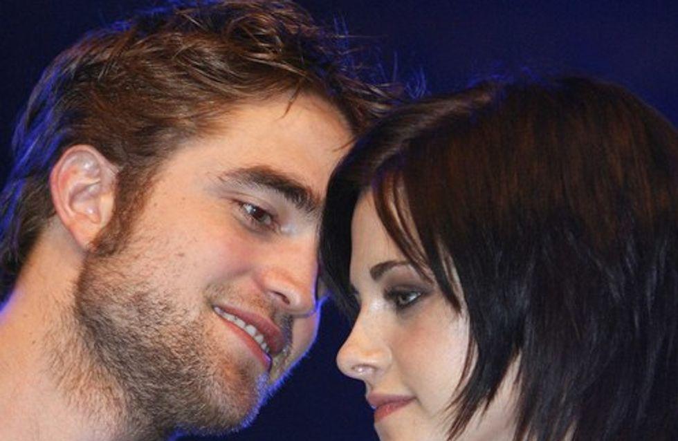 Robert Pattinson et Kristen Stewart : les photos de leur baiser !