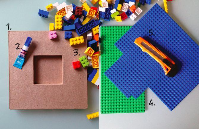 Matériel - Tuto cadre photo modulable LEGO